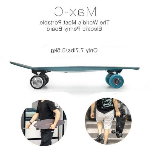 """27"""" Skateboard KM/H Top Charge For 1 Ride Miles"""