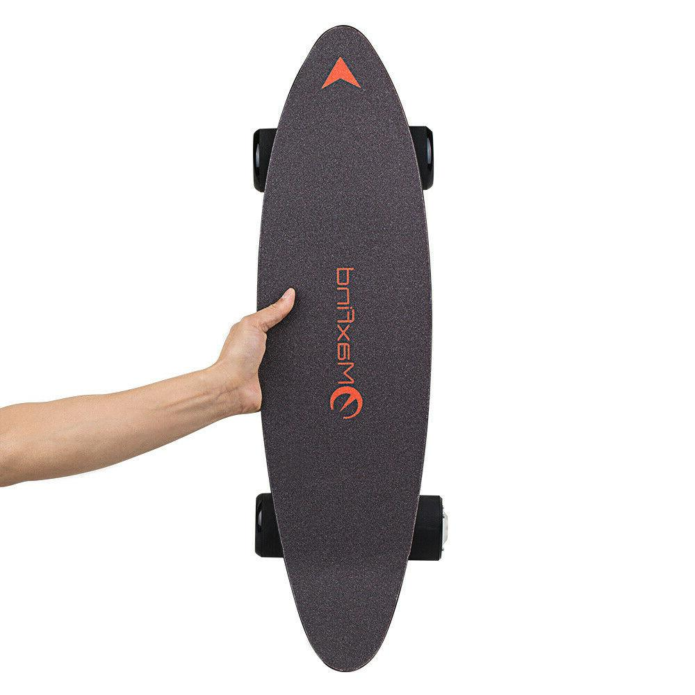 27 in Electric Longboard Scooter Wheels With Control