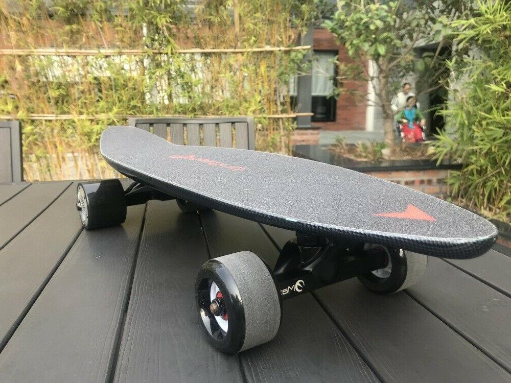 Longboard Scooter With