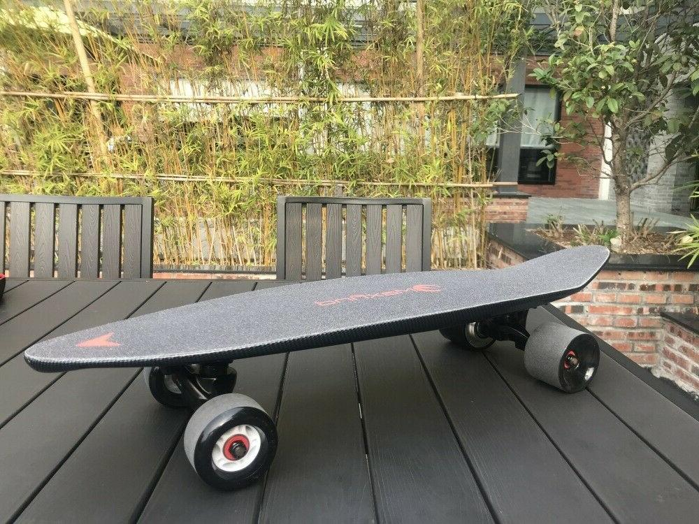 27 Electric Longboard 4 Wheels With Control 20KM/H