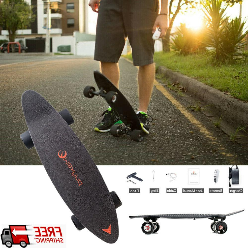 27 in electric skateboard longboard scooter 4