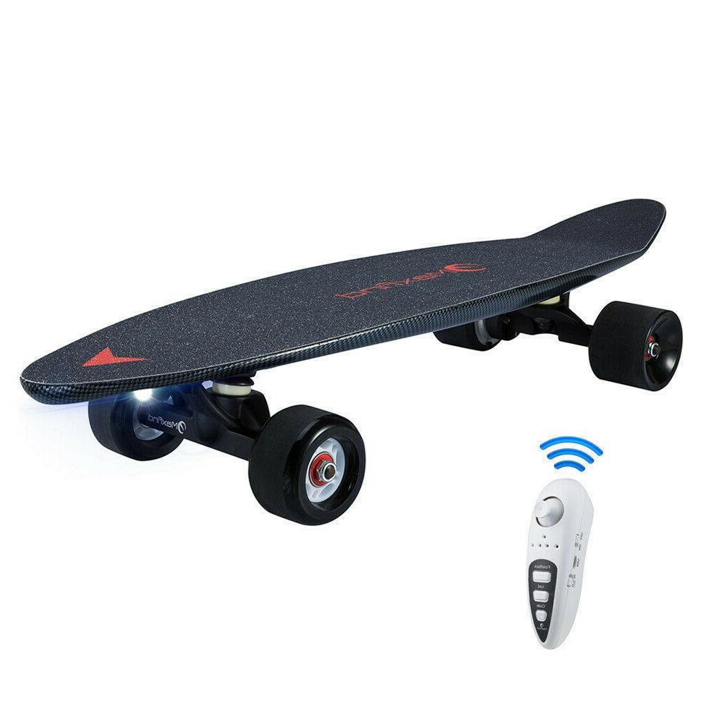 Maxfind 27 Skateboard With Wireless Controller