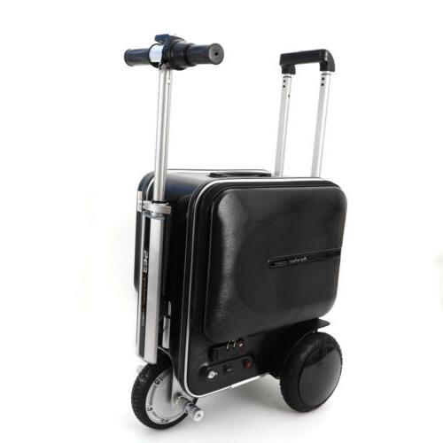 Airwheel Black PC Electric Skateboard Suitcase/Luggage Scooter