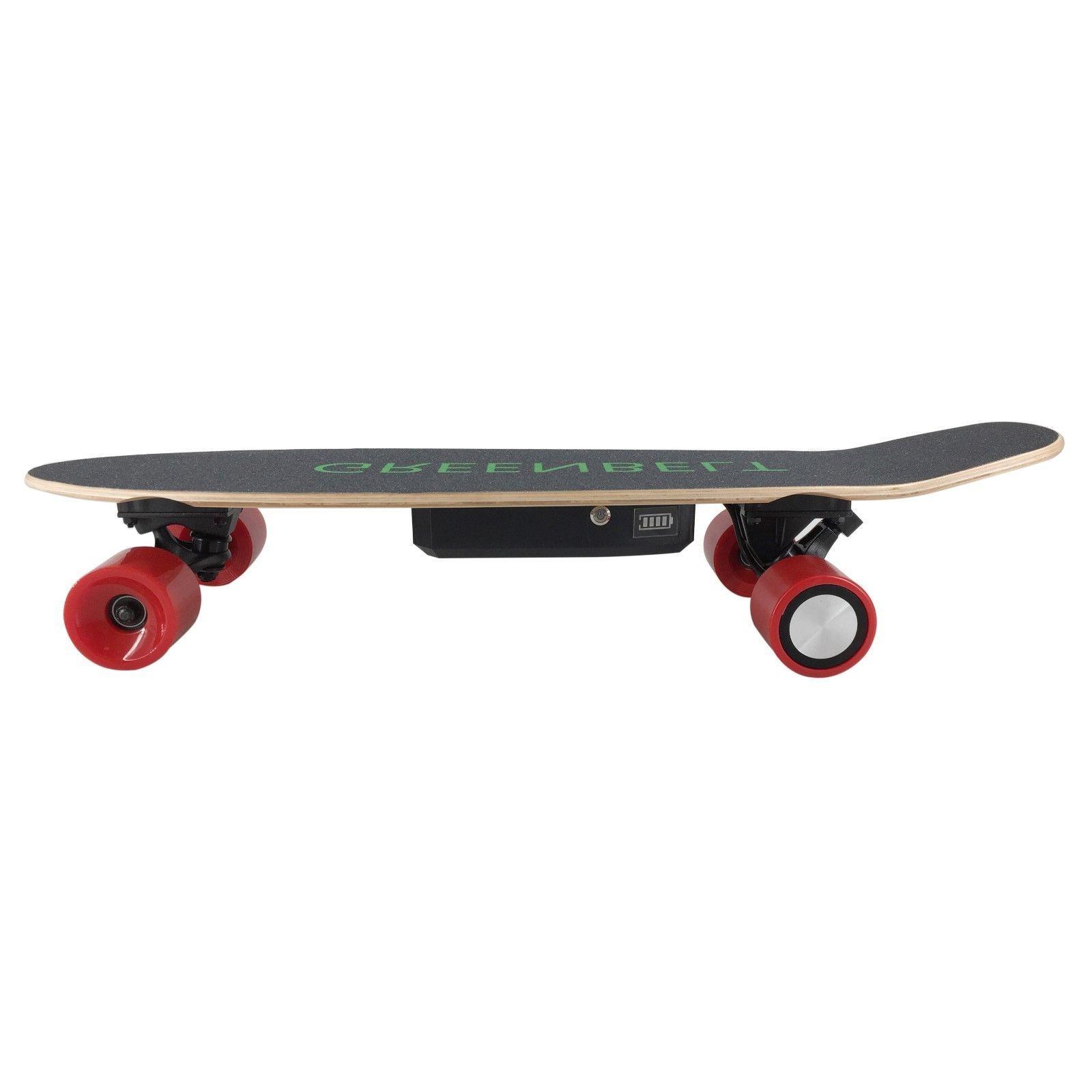 "29"" 7-Layer Maple Electric Skateboard &"