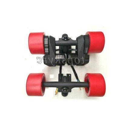 2pcs Electric Longboard Trucks + Dual &