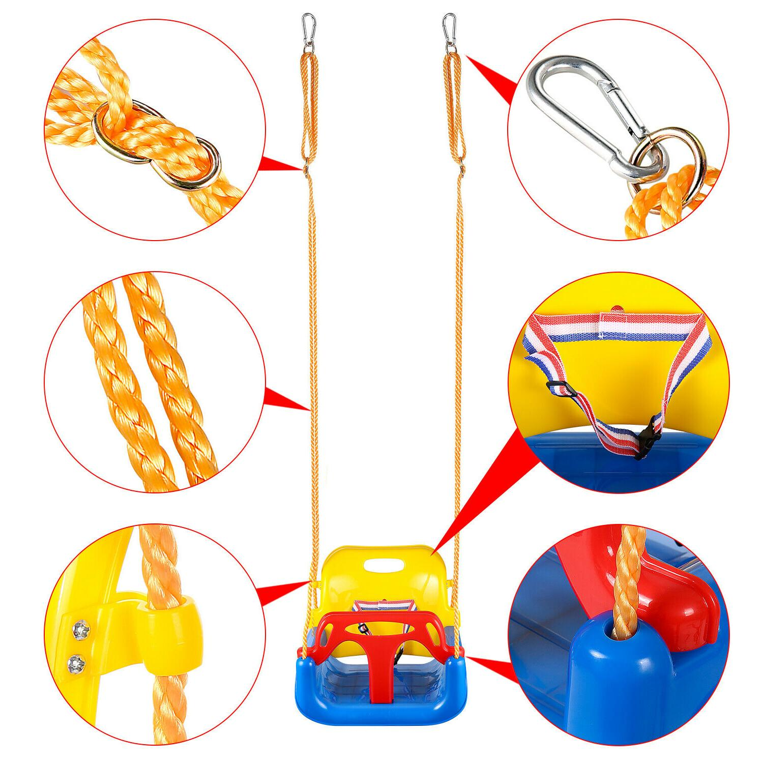 3-in-1 Infant for Toddler Baby Playground Play Fun