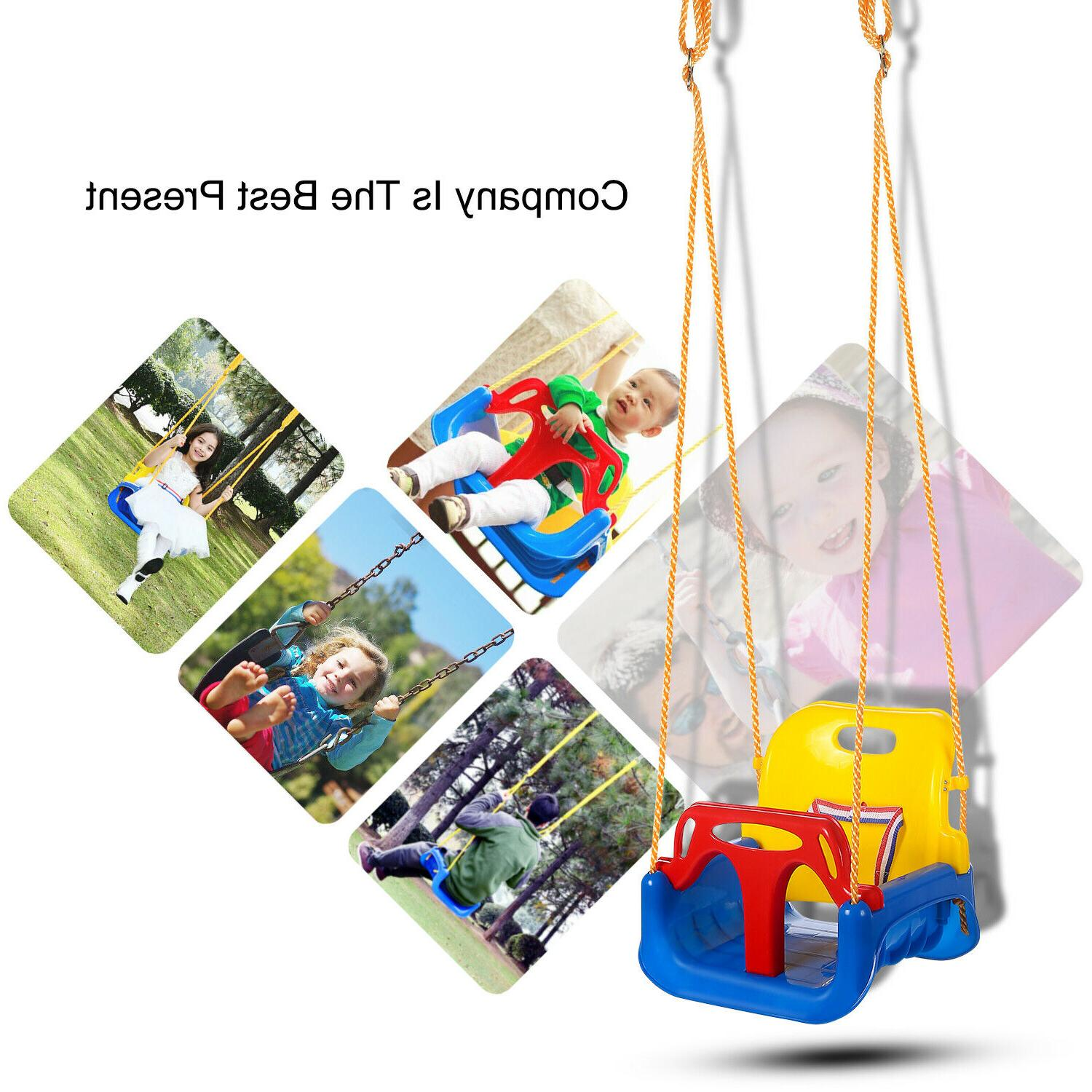 3-in-1 Set for Toddler Playground Outdoors Play