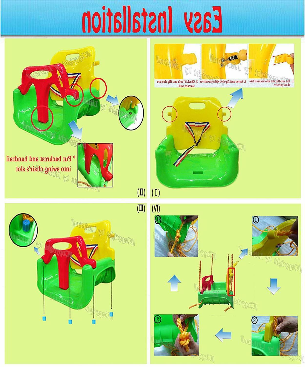 3-in-1 Infant for Seat Playground Outdoors