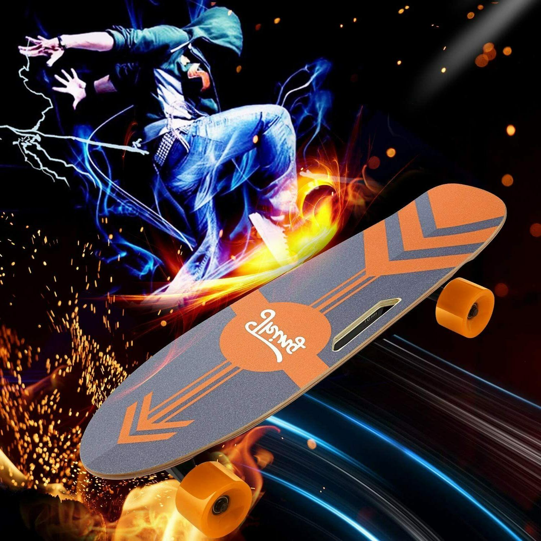 ANCHEER Electric Skateboard Motor Longboard w/Remote