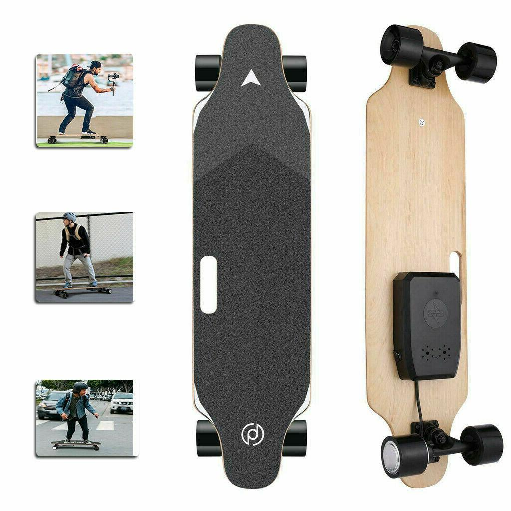 35 inch Electric Skateboard 350W 20kmh Longboard with Wirele