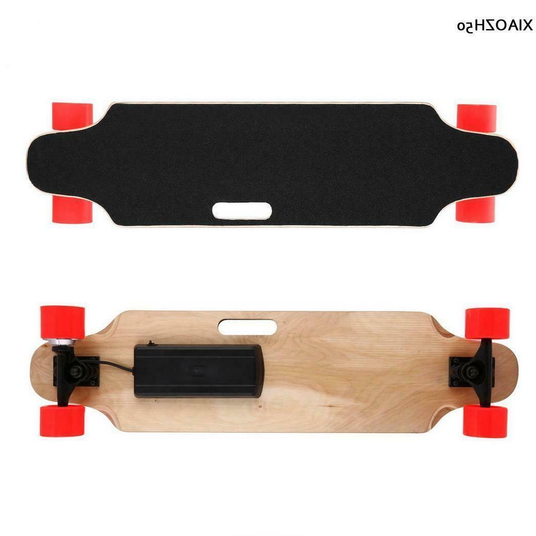 """35'' Skateboard Adult Wireless Longboard 2.9""""Wheels Remote Control"""