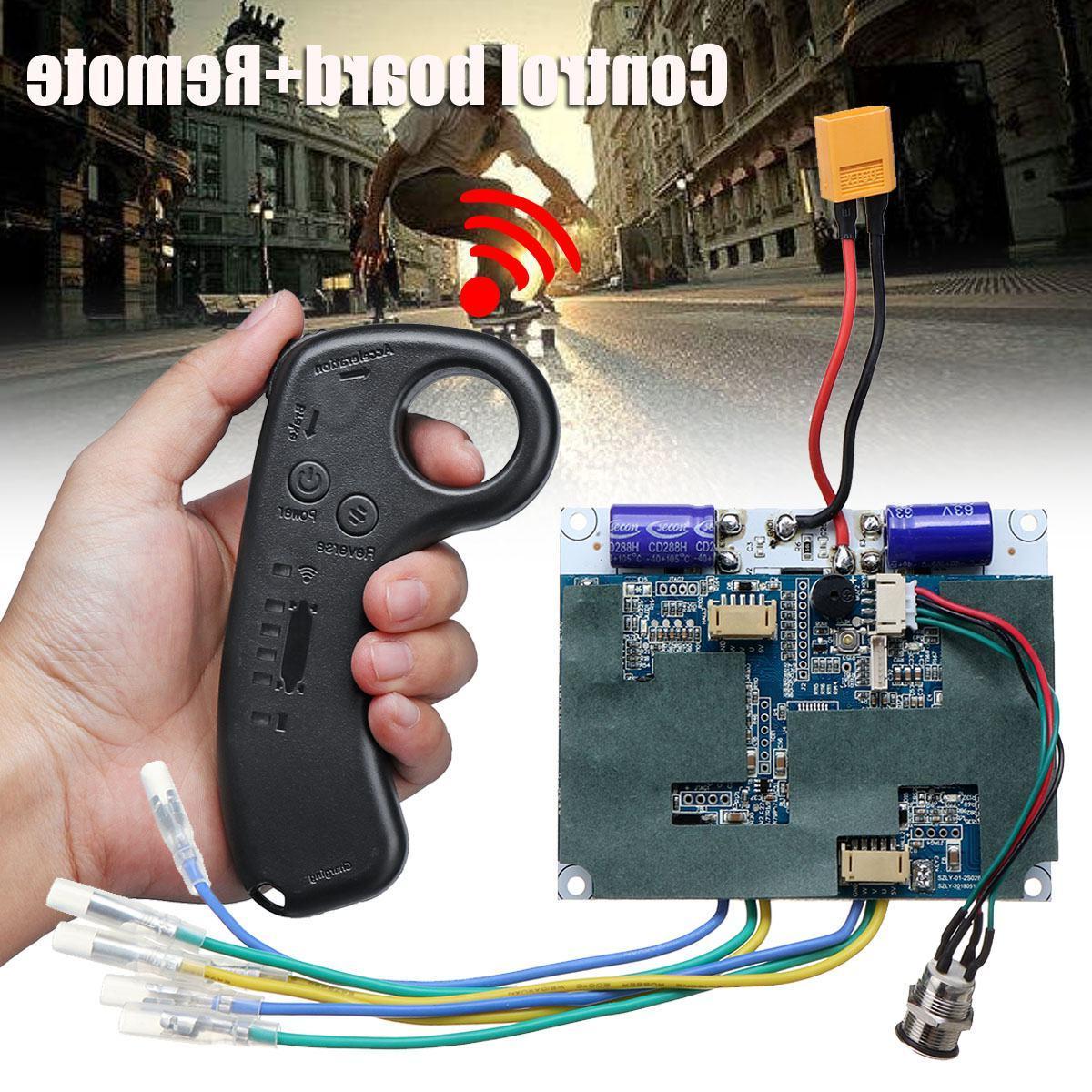 36v dual motor electric skateboard font b