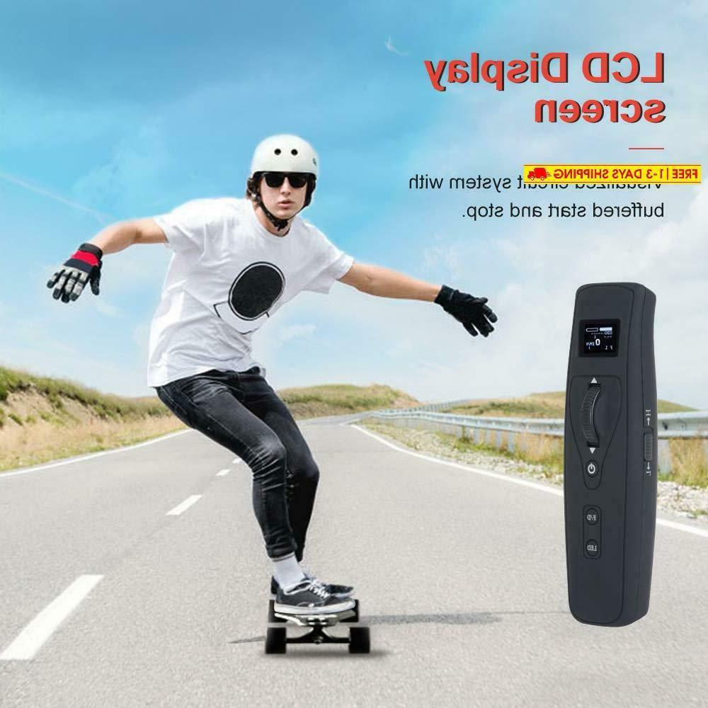 "New 37"" Electric Skateboard Through 760W Motor"