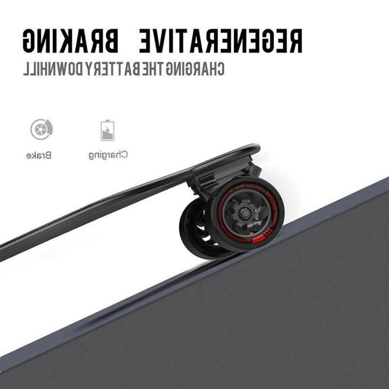 """38"""" Range 25 Mile Motor Bluetooth Longboard"""