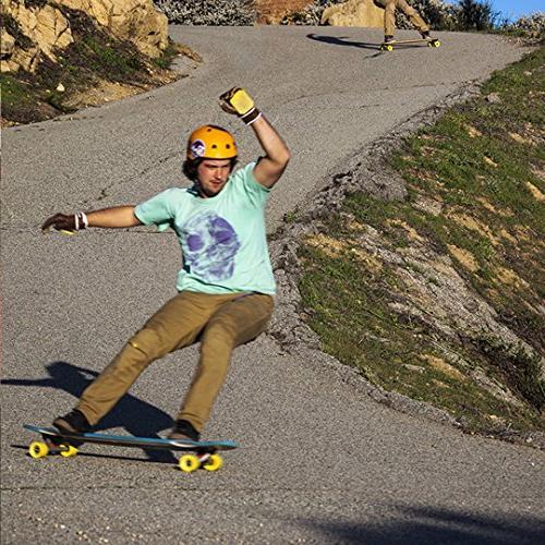 Orangatang President 70 mm Longboard Skateboard w/Loaded V2 Bearings