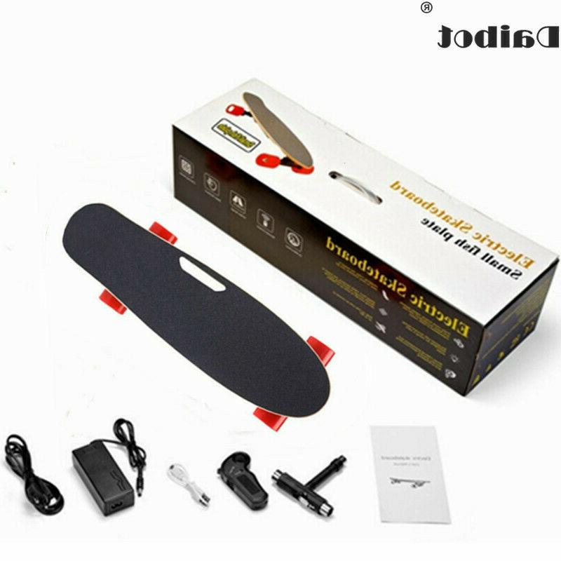 4 wheels electric skateboard 150w single dual