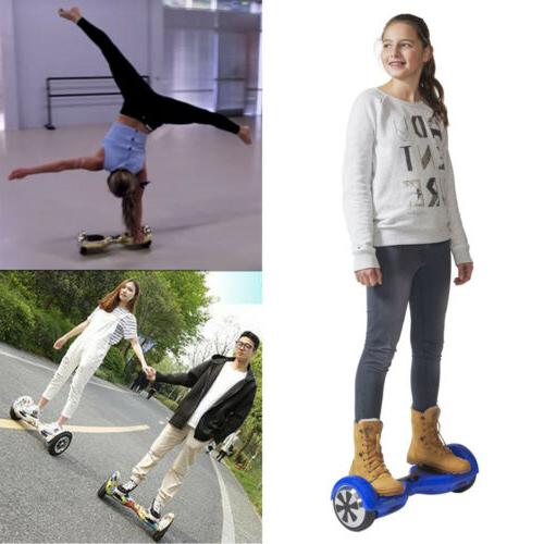 New 6.5 skate boards Electric Self 2 LED UL