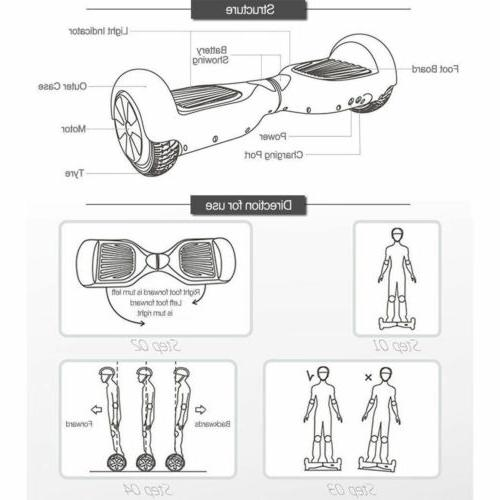 New 6.5 skate boards Electric Self Balancing 2 UL