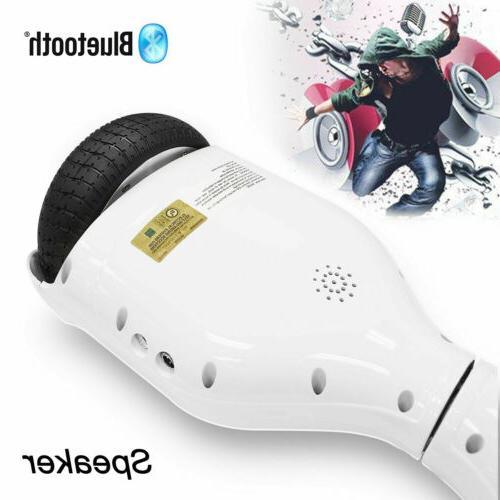"6.5"" Smart Self Balancing Scooter 2-wheel Board Hover UL BT"