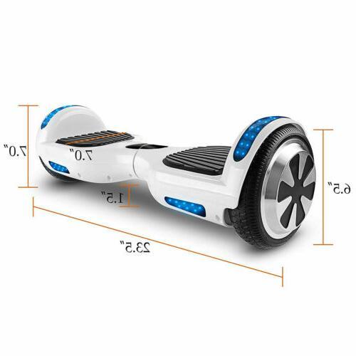 "6.5"" Smart Scooter Board Hover BT"