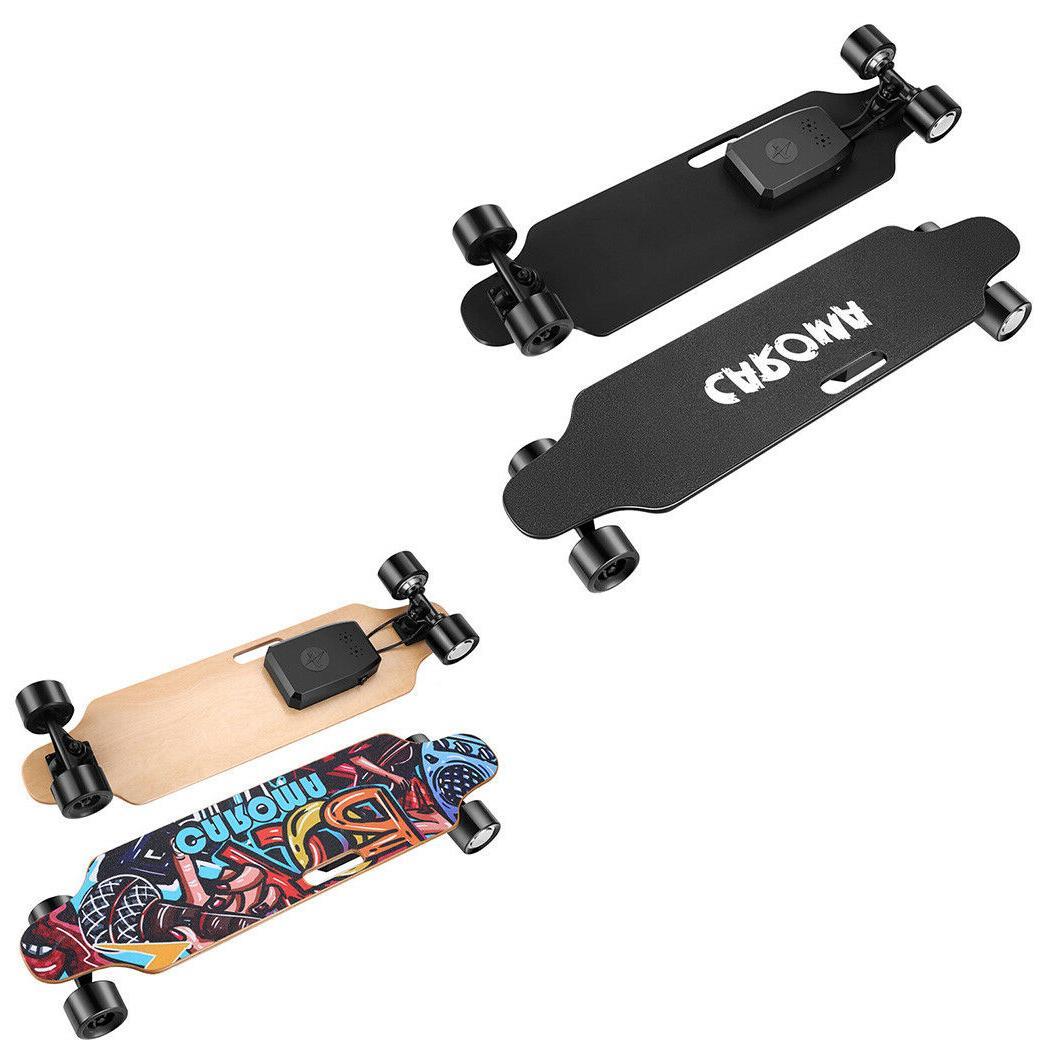 7/8 Deck Dual Motor Electric Skateboard Adults Longboard