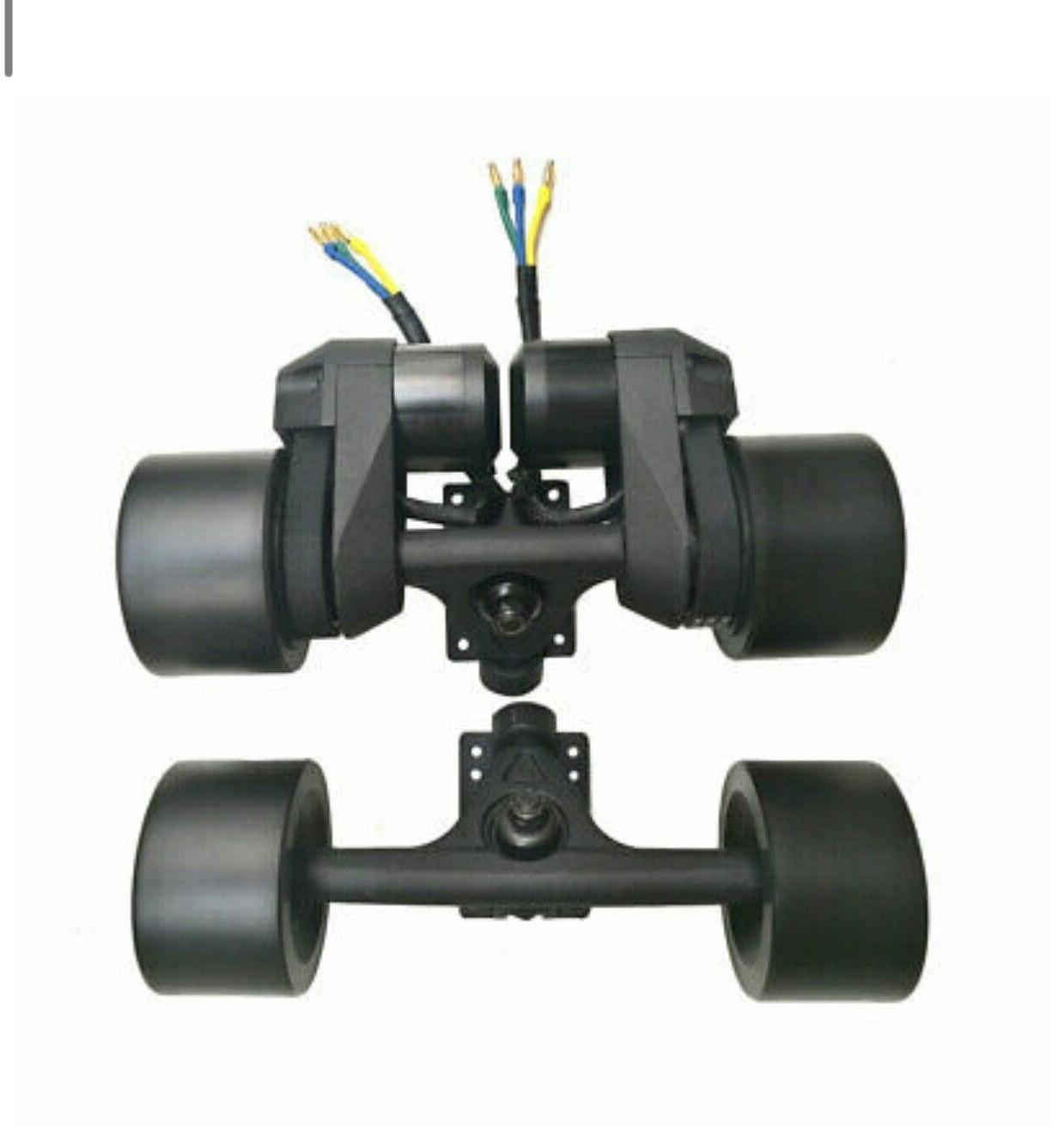 90MM 6364 Dual Hub Motor Parts for Electric Longboard