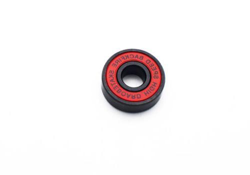 BACKFIRE Detachable front /rear skin four wheel skateboard