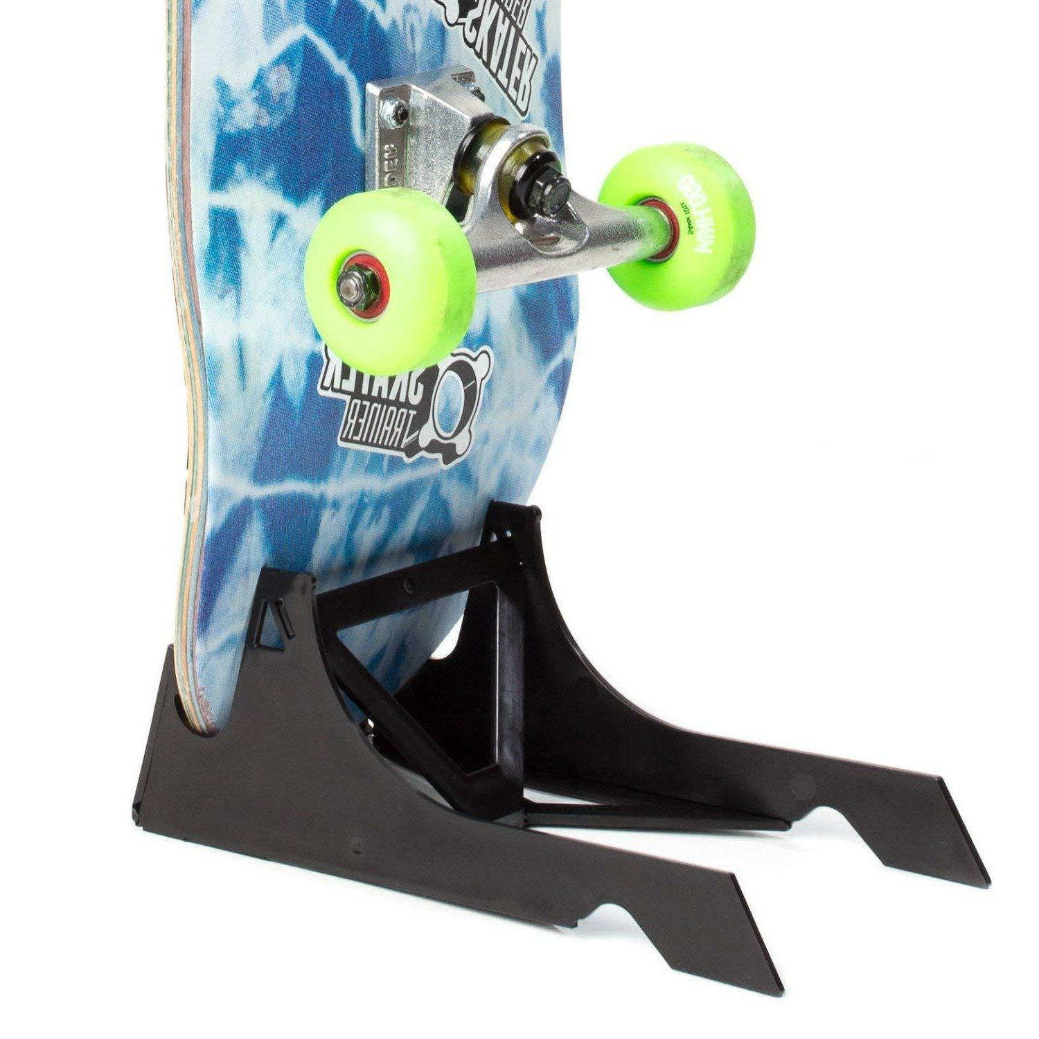 Origami Skateboard Stand and Display Portable Skate Stand, S