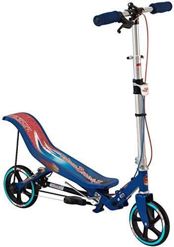Space Scooter Junior Ride On, Blue