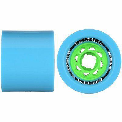 alpha downhill longboard race wheel 75 5mm