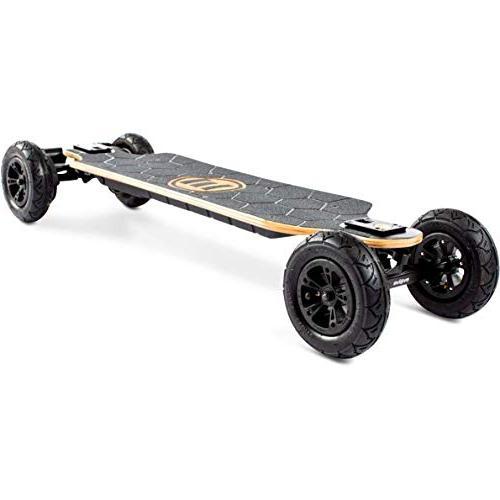 Evolve GTX All-Terrain Skateboard – Mile Range – mph Top Screen Lithium-Ion