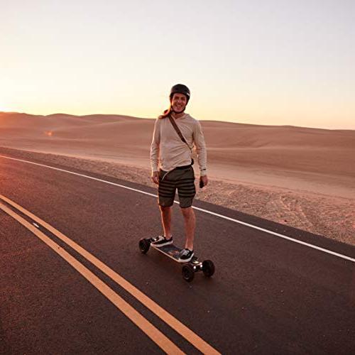 Evolve Skateboards Bamboo GTX Electric Skateboard – 20 Mile Range Top