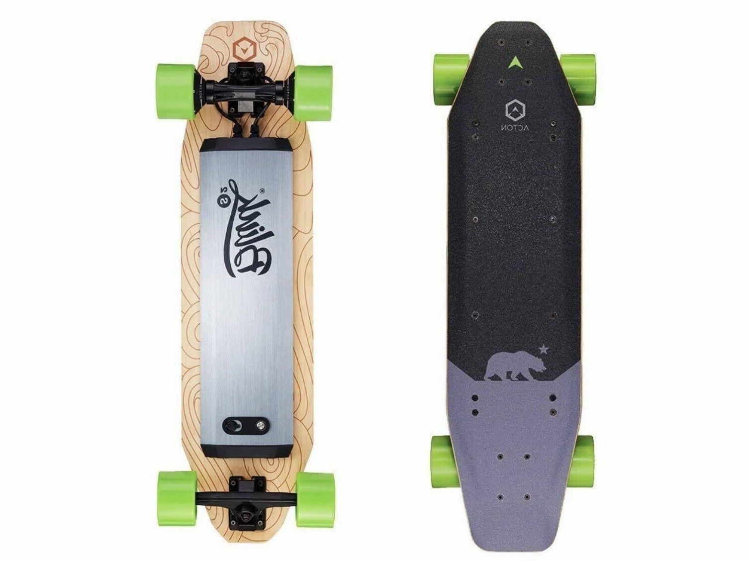blink s2 electric skateboard 2 wheel drive