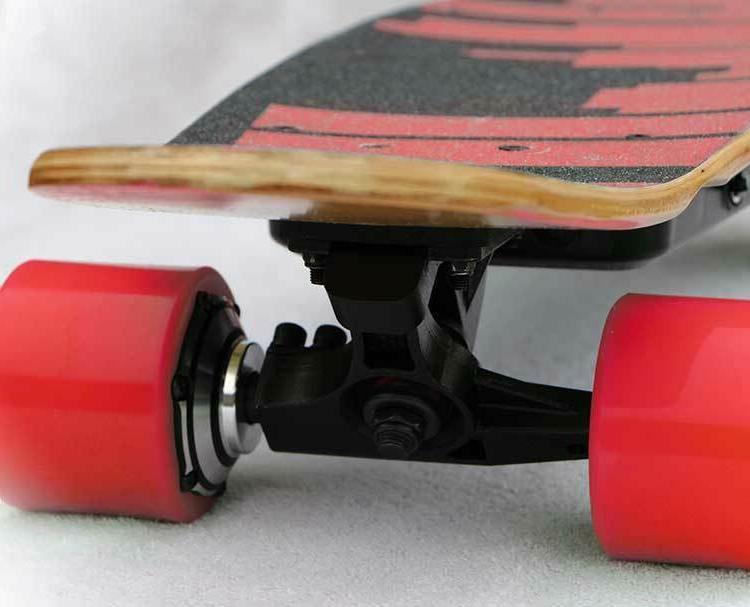 Brand Metropolis Short Board- Red