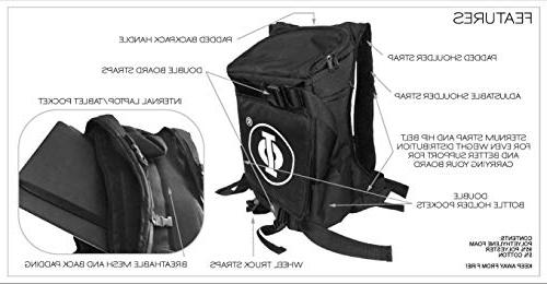 GoRide Commuter and Skateboard and Storage