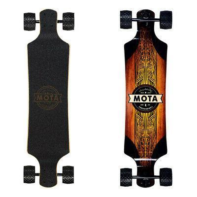 complete skateboard cruiser deck downhill