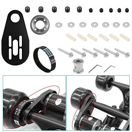XCSOURCE Electric Longboard Parts And + + Tool Set 80mm Wheels