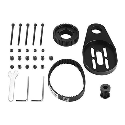 Longboard Pulley Kit Bracket Belt Tool Mount for OS915