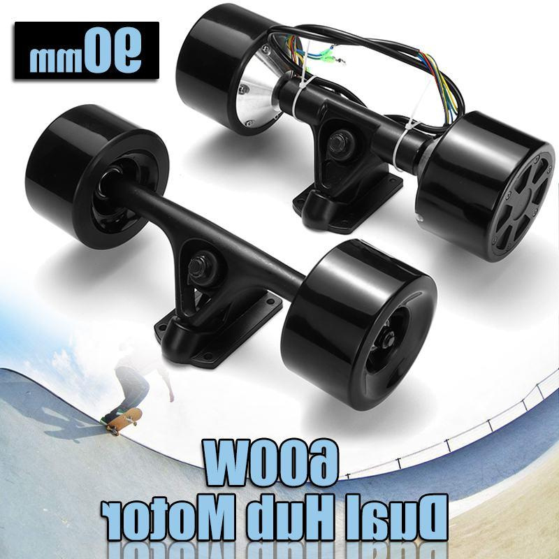 Double Scooter Motor DC Remote <font><b>Electric</b></font>