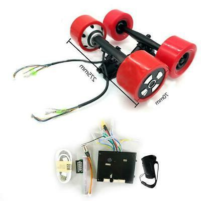 Dual Hub Front with for Electric Skateboard