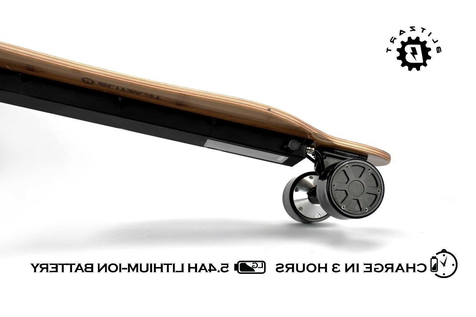"""BLITZART Dual 38"""" Skateboard"""