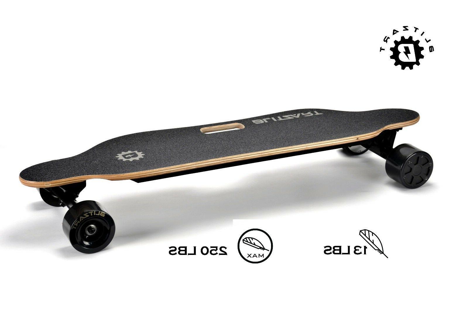 "BLITZART Dual motor 38"" MOTORS Electric Skateboard"