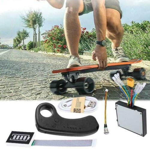 Electric Skateboard Dual Motor ESC Upgrade DIY Kit Longboard