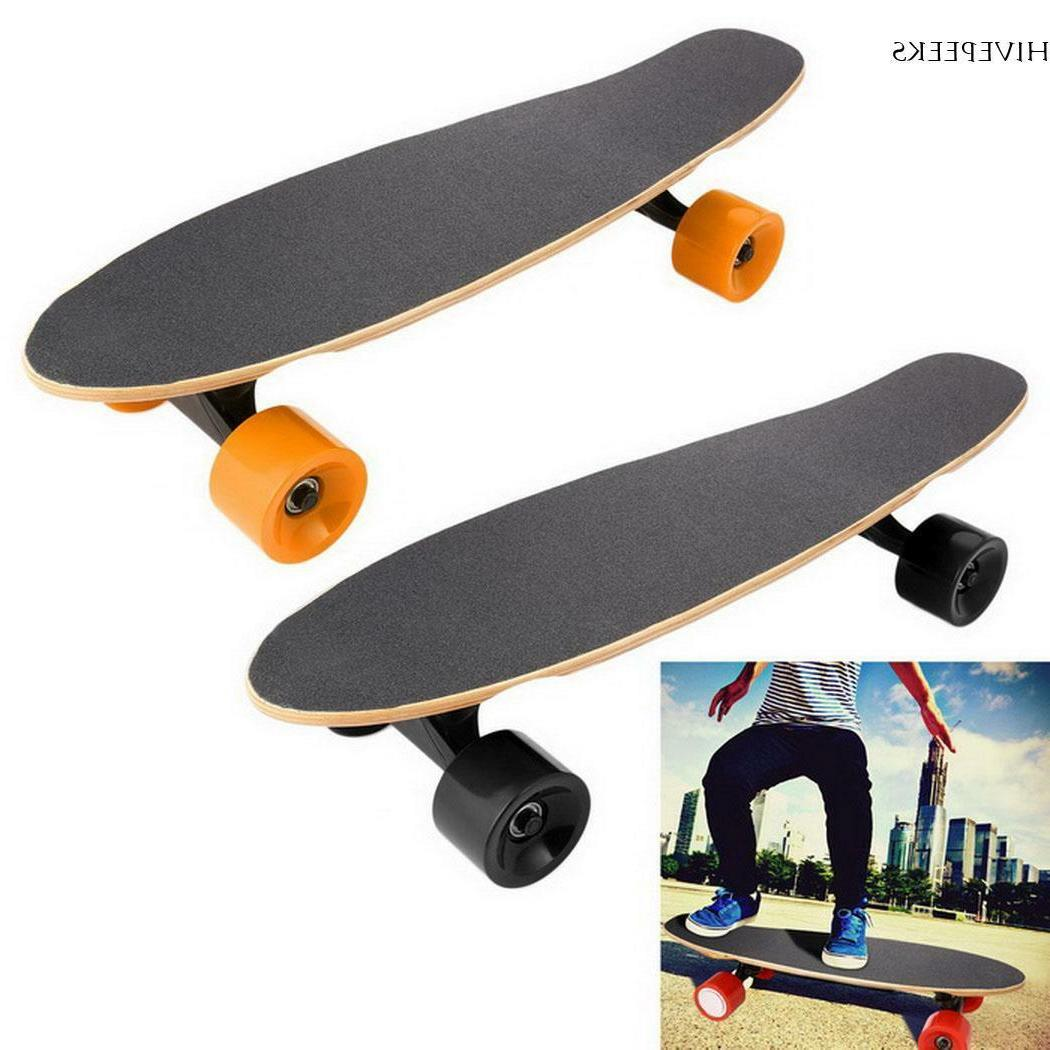 electric 250w moterized longboard skateboard wireless remote