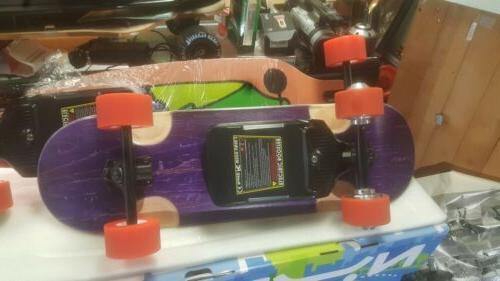 NUFF Electric Longboard Black/orange ,2000W $1599