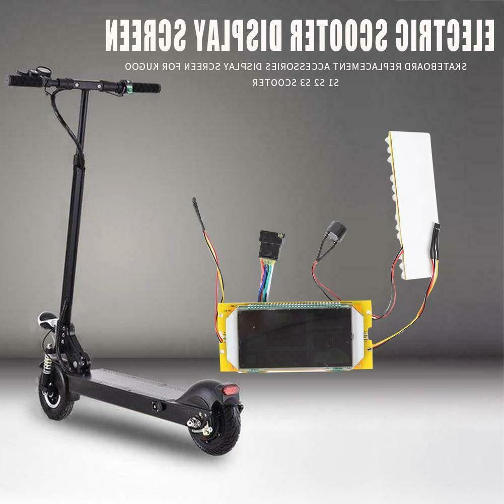 electric scooter display screen skateboard accessories