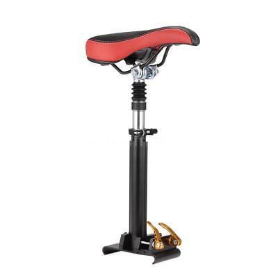 electric scooter skateboard saddle seat foldable bumper