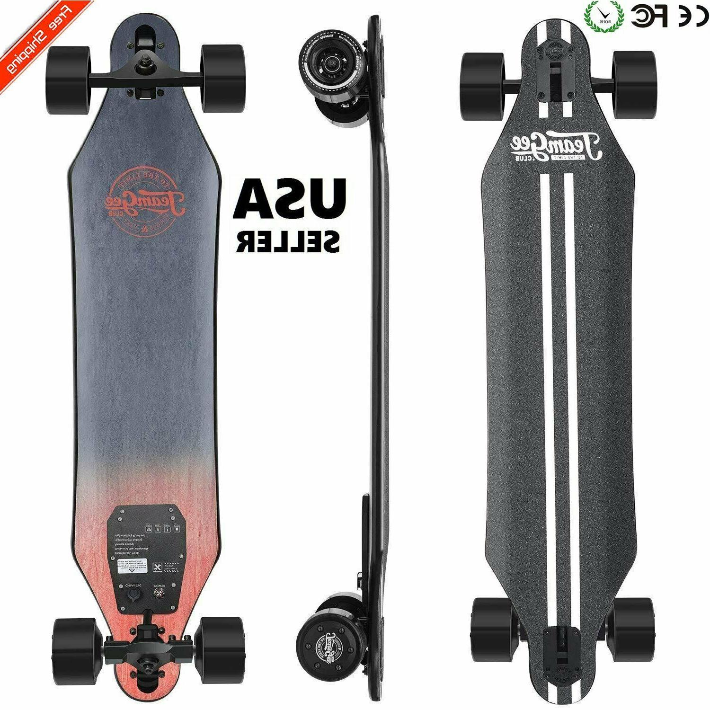 electric skateboard 22mph dual motors motorized long