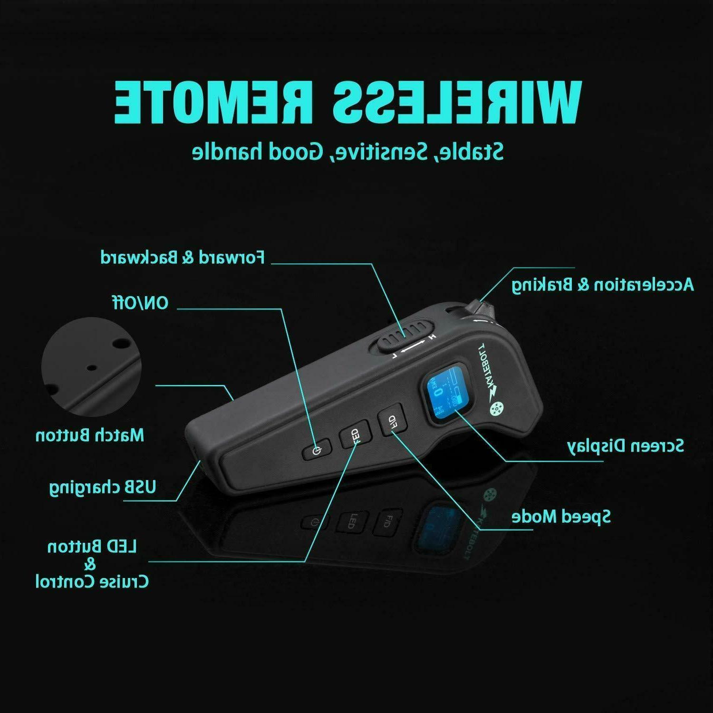 SKATEBOLT Electric MPH mAh with Remote
