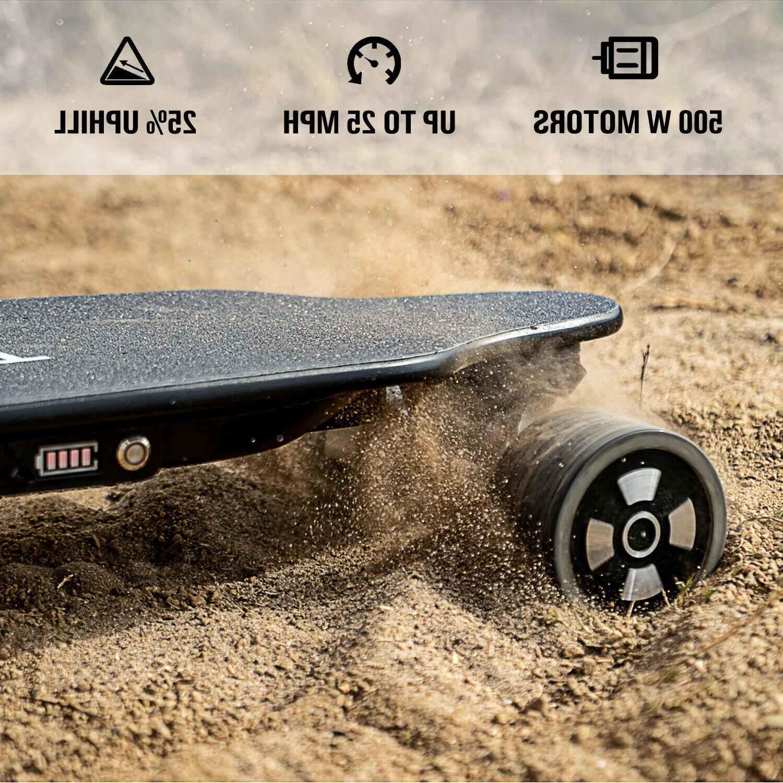 SKATEBOLT Electric Skateboard MPH Dual Motors mAh with